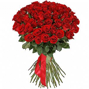 51 красная роза премиум с доставкой в Твери
